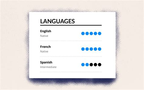 resume language skills do i need them how do i present them