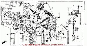 Honda Xr250r 1984  E  Usa Carburetor 84-85