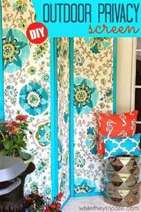 Diy Fabric Patio Cover Ideas by Top 10 Clever Diy Patio Privacy Screen Ideas