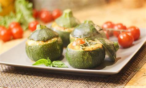 courgettes farcies tomate mozzarella
