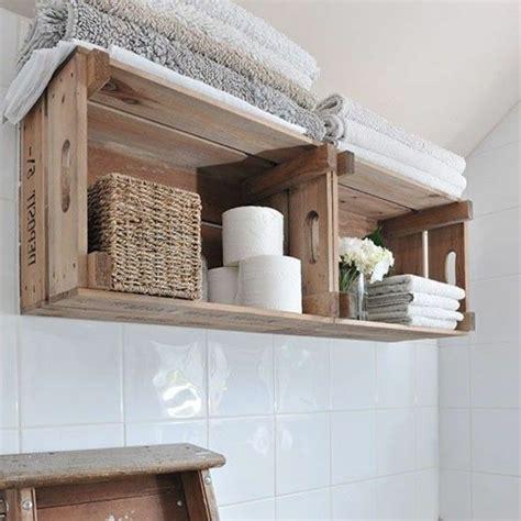 idee decoration salle de bain meuble en palette de bois
