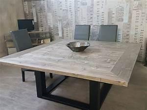 Table De Salle À Manger Carrée : table de salle a manger carree ~ Melissatoandfro.com Idées de Décoration