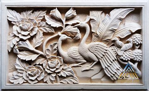 relief  kerajinan ukir batu alam paras jogjabatu putih