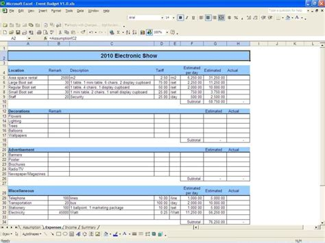 sample budget spreadsheet excel db excelcom
