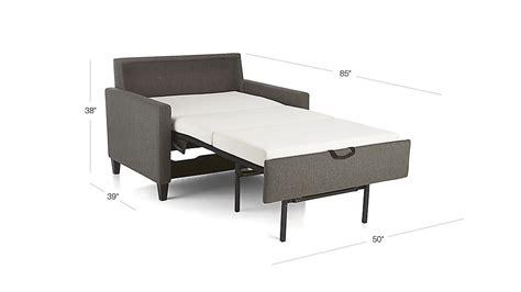 Karnes Sleeper Sofa by Karnes Sleeper Sofa Crate And Barrel