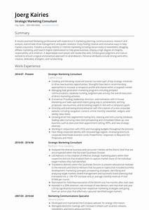 It Consultant Resume Examples