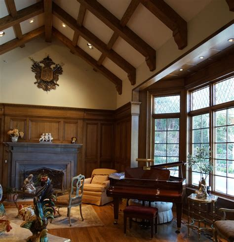tudor homes interior design hillsborough interiors for an english tudor home