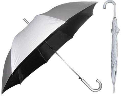 Sonnenschirm Uv Schutz by Silver Sunblock Umbrella With Black Lining Uv Protection