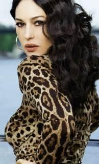 Leopard Monica Bellucci