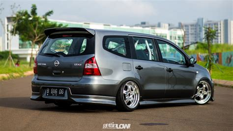 Modifikasi Nissan Livina by Modifikasi Mobil Ceper Nissan Grand Livina Gray Metallic