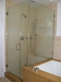 bathroom glass shower ideas glass shower door tub combo traditional bathroom los angeles by algami glass doors