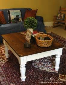 Gray Wash Coffee Table