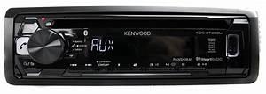 Kenwood Kdc-bt265u Bluetooth Cd Mp3 Smartphone Player Car Radio Stereo Receiver