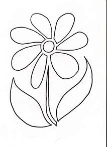 Printable Flower Stencil Patterns