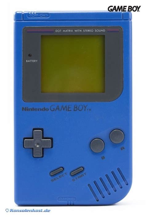 gameboy konsole blau blue harry classic  dmg