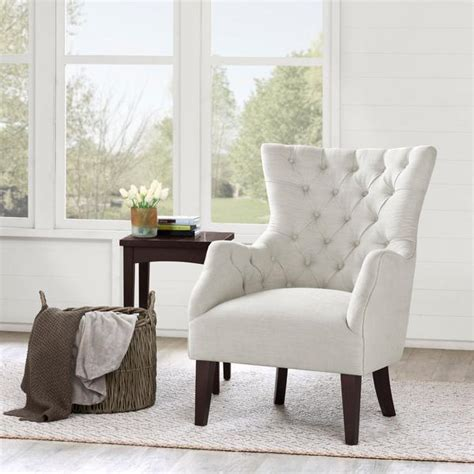 hannah  white wing chair
