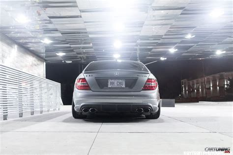 stance mercedes benz  amg  rear
