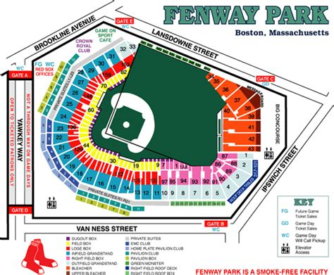 sox ticket office phone number fenway park boston ma seating chart view