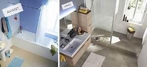 Refaire Une Douche : refaire sa salle de bain avec une douche italienne castorama ~ Dallasstarsshop.com Idées de Décoration