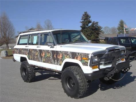 wagoneer jeep lifted 1983 jeep wagoneer limited 6 500 possible trade
