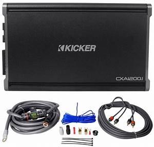 Kicker 43cxa12001 Cxa1200 1 1200 Watt Rms Mono Car Audio