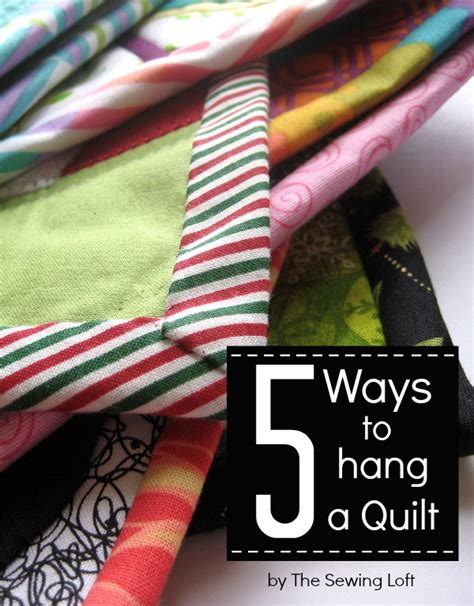 how to hang a quilt how to hang your mini quilt the sewing loft