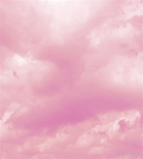 black pillow cases quot pastel pink aesthetic clouds nature quot by polkadottpants