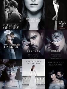 Shades Of Grey Film : fifty shades trilogy movie posters 50 shades fifty ~ Watch28wear.com Haus und Dekorationen