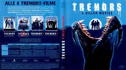 Tremors Dvd Blu Ray Covers Fsk Ohne