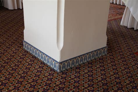 tile baseboards for the home
