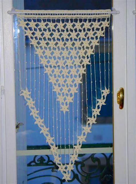 modele rideau crochet gratuit beau  patrons des rideaux