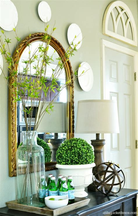 buffet decoration ideas summer home tour 2014 at the picket fence
