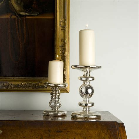 Candle Sticks by Antiqued Silver Candlestick By All Things Brighton