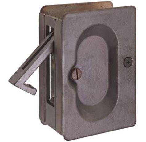emtek pocket door locks buildcom shop passage privacy