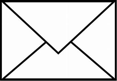 Envelope Mail Clip Single Letter Sweetclipart