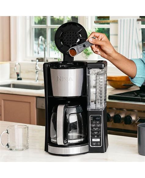 It has classic and rich brew settings, so you can get coffee that suits your palate. Ninja CE200 12-Cup Programmable Coffee Brewer & Reviews - Coffee Makers - Kitchen - Macy's