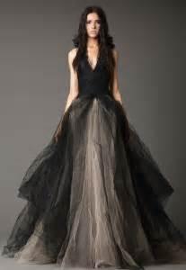 gray wedding dresses black and gray wedding dresses weddbook