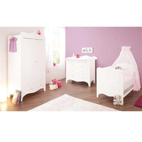 chambre bébé bio chambre bébé 3 pièces fleur blanc pinolino natiloo com