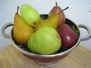 Different Types of Pears List