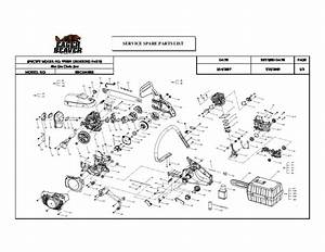 Eager Beaver 20 Chainsaw Parts Diagram