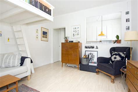 tiny apartment kitchen ideas small studio apartment elegantly combines loft bed