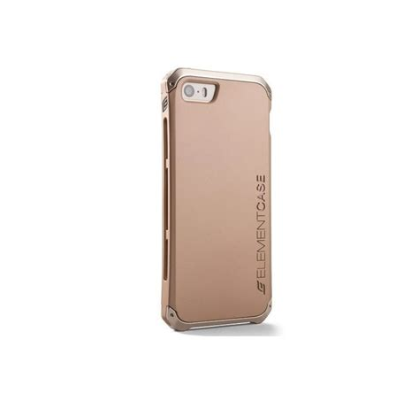 metal iphone element solace au iphone 5 5s gold w gold aluminum