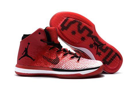 Nike Air Jordan Xxxi 31 Red Black White Men Basketball