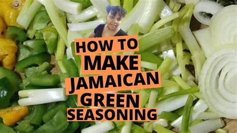 caribbean green seasoning newbe recipes