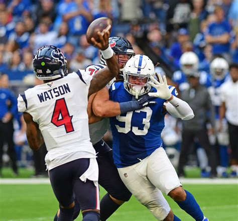 texans  colts week  time tv schedule  info