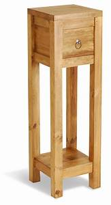 ultimum, classic, pine, tall, side, table