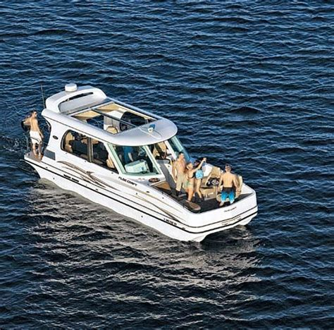 Sleeping On A Pontoon Boat by A New Category Of Boat Pontoon Deck Boat Magazine