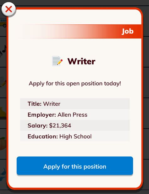 bitlife become famous writer start reporter press need company