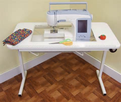 Koala Sewing Machine Cabinets Used by Arrow 98611 Gidget 2 Sewing Table At Ken S Sewing Center