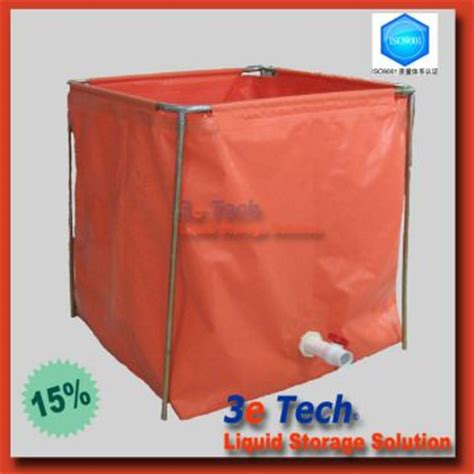 si鑒e pliable water tank 1 storage water aquaculture industry 2 pvc coated is durable and light global sources